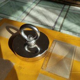 Магниты - Поисковый магнит 80X18 мм на 150кг + подарок верёвка, 0