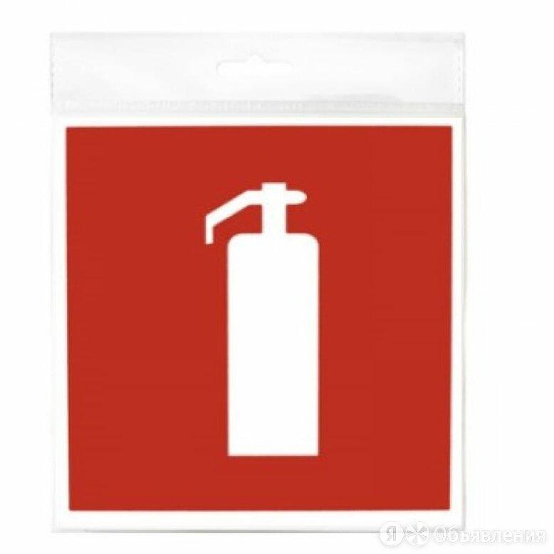 Табличка Контур Лайн ОГНЕТУШИТЕЛЬ по цене 193₽ - Рекламные конструкции и материалы, фото 0