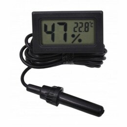 Метеостанции, термометры, барометры - Гигрометр-термометр с внешним датчиком fy-12 (-50+110,±1%), 0