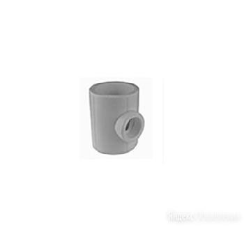 Тройник редукционный  50/32/50 (35/7) (Valfex) СЕРЫЙ арт. 10503250Г по цене 81₽ - Комплектующие водоснабжения, фото 0