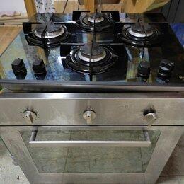 Духовые шкафы - Духовой шкаф и варочная панель газовая хотпоинт аристон, 0