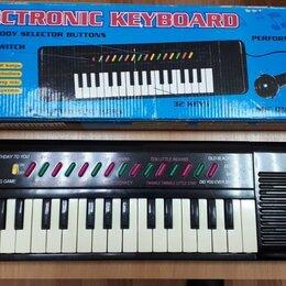 Детские музыкальные инструменты - Синтезатор electronic keyboard , 0