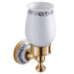 Мыльницы, стаканы и дозаторы - Стакан для зубных щеток Zeegres Z.CLASS золото арт. 27102302, 0