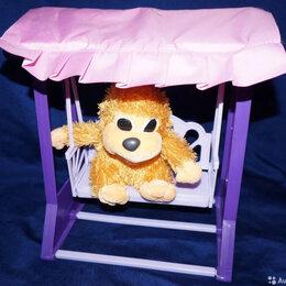 Игрушечная мебель и бытовая техника - Мебель для кукол (качели) игрушка, 0