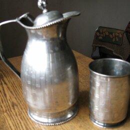 Посуда - Кувшин с металлической крышкой, 0