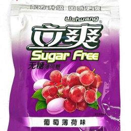 Продукты - Конфеты Sugar Free Виноград-Мята 15 гр. (Без сахара), 0