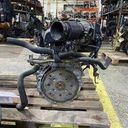 Двигатель и топливная система  - Двигатель QR25DE Nissan X-Trail 2.5i 165 л/с T30, 0