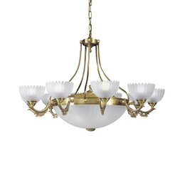 Люстры и потолочные светильники - Подвесная люстра Reccagni Angelo L 3030/10+4, 0
