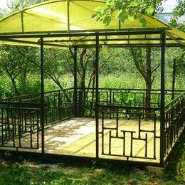 Комплекты садовой мебели - Металлическая беседка разборная, 0