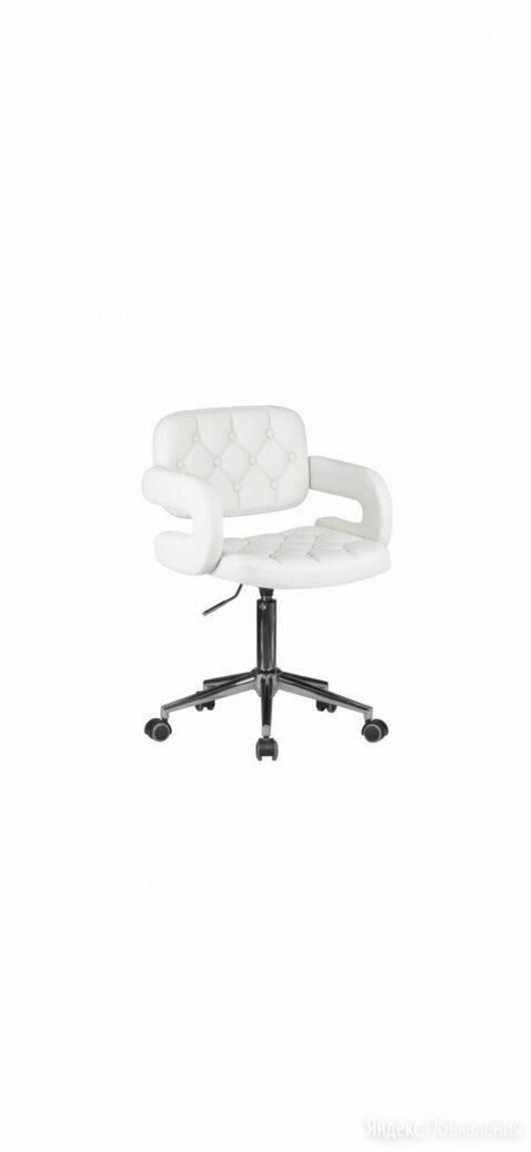 Офисное кресло для персонала LARRY 9460, сиденье экокожа, цвет белый и чёрный по цене 7100₽ - Компьютерные кресла, фото 0