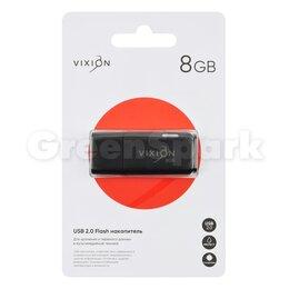 USB Flash drive - Накопитель USB Flash 08GB 2.0 VIXION Shark Eyes (черный), 0