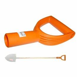 Черенки и ручки - Морозостойкая ручка для лопатного черенка SKRAB 28097, 0