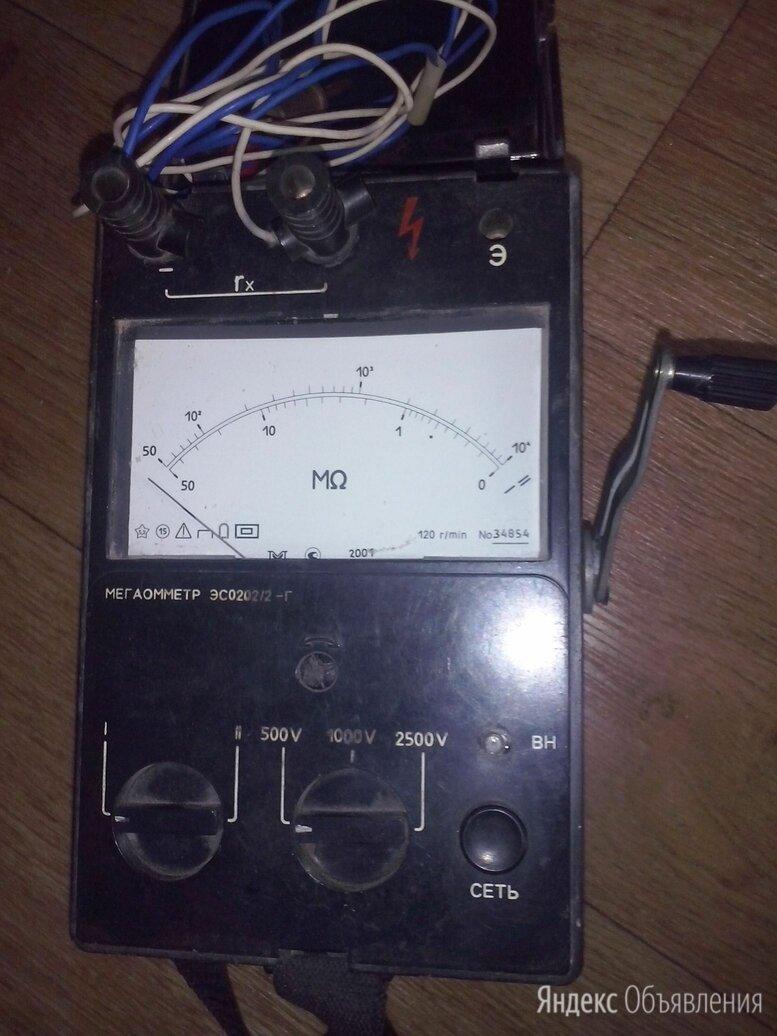 Мегаомметр эс0202 2-г переключатель шкал по цене 2000₽ - Измерительные инструменты и приборы, фото 0