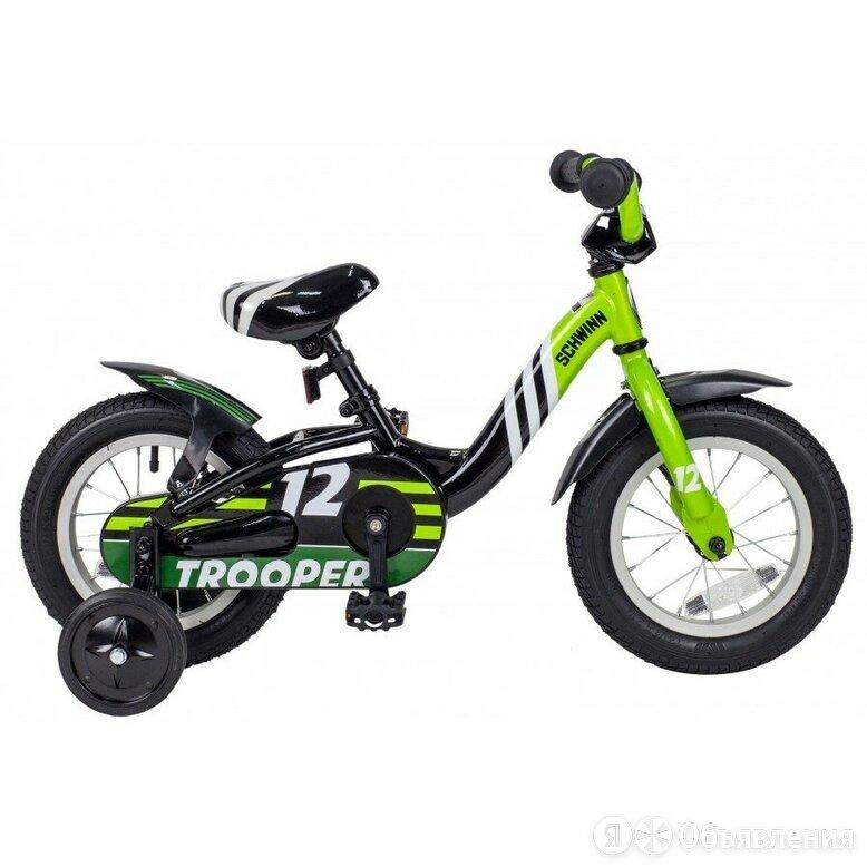 Велосипед SCHWINN TROOPER Black/Lime по цене 9950₽ - Спорт, фото 0