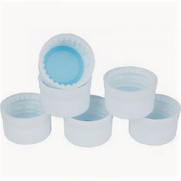 Одноразовая посуда - Колпачок d-28мм бел. для бутылки ПЭТ (упак100шт), 0