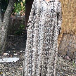 Платья - Вечернее платье в пол Marina Rinaldi, 54р, 0