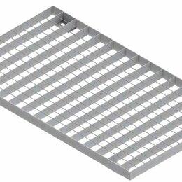 Заборчики, сетки и бордюрные ленты - Standartpark Решетка Basic РВ-50.58.100 [68х38х2] ячеистая оцинкованная 29201..., 0