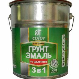 Эмали - Грунт -эмаль по ржавчине кр.-кор ВИТ 20 кг, 0