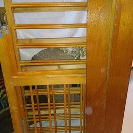 Кроватки - Деревянная детская кроватка в разобранном виде, 0
