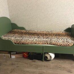 Кроватки - Кровать детская раздвижная с реечным дном , 0