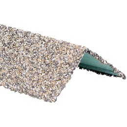 Отделочный профиль, уголки - Уголок внешний металлический HAUBERK Серо-Бежевый 50*50*1250мм, 0