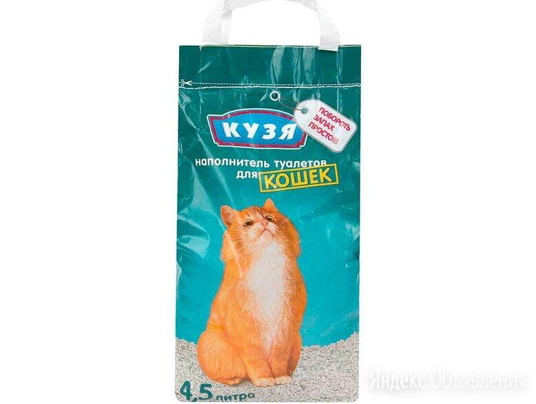 """Наполнитель для кошачьего туалета """"Кузя"""" по цене 105₽ - Наполнители для туалетов, фото 0"""
