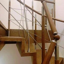 Лестницы и элементы лестниц - Лестница консольная и комбинированные перила, 0