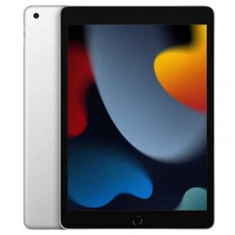"Планшеты - Apple iPad 10,2"" (2021) Wi-Fi 64 ГБ, Silver (серебристый), 0"