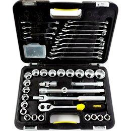 Наборы инструментов и оснастки - Набор торцевых головок и комб, ключей Stanley 1-99-056, 0