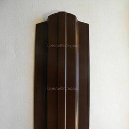 Заборы, ворота и элементы - Штакетник металлический Шоколадно-коричневый, 0