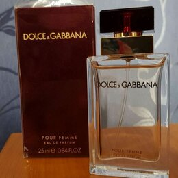Парфюмерия - Парфюмерная вода Pour Femme Dolce&Gabbana, 0