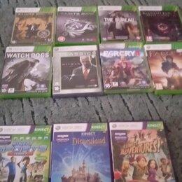 Аксессуары - 9 игр на Xbox 360 +3 с камерой (камера в покупку не идëт) 1 игра-600 руб., 0