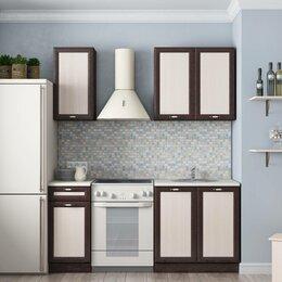 Мебель для кухни - Кухонный гарнитур Л-31 венге/дуб, 0