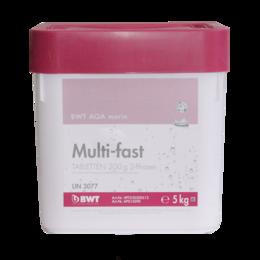 Химические средства - BWT AQA marin multi-fast 5 кг., многофункциональное средство для бассейна, 0