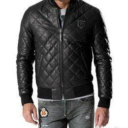 Куртки - Куртка кожаная мужская, 0