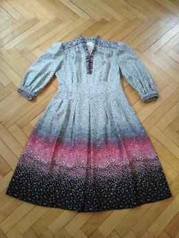 Платья - Платье винтажное 70-е/80-е р.48-50, 0