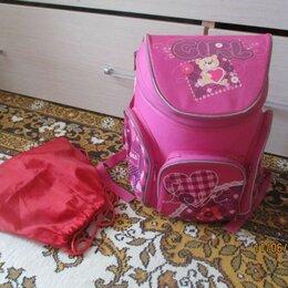Рюкзаки, ранцы, сумки - Школьный ранец д/девочки, 0