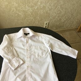 Рубашки - Рубашка белая на мальчика, размер 25/86, 0