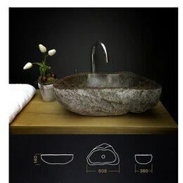 Раковины, пьедесталы - Раковина из натурального камня, 0