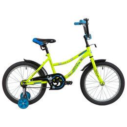 """Велосипеды - Велосипед 18"""" Novatrack Neptun, 2020, цвет салатовый 4810031, 0"""