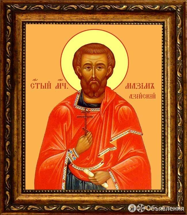 Максим Азийский мученик. Икона на холсте. по цене 2290₽ - Иконы, фото 0