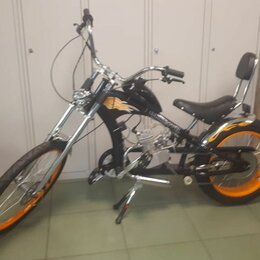 Велосипеды - Велосипед с мотором Chopper MC-32003 со склада, 0