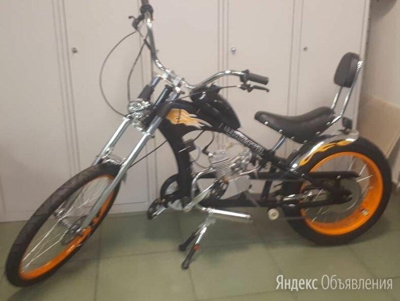 Велосипед с мотором Chopper MC-32003 со склада по цене 33000₽ - Велосипеды, фото 0