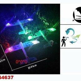 Сопутствующие товары - Метательный планер пенопластовый с подсветкой 819-37C, 0