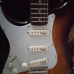 Электрогитары и бас-гитары - Леворукий Stratocaster Stagg S300LH-SB. Бесплатная Доставка, 0