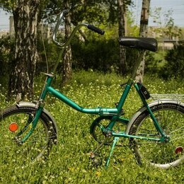 Велосипеды - Велосипед аист  зеленый, 0