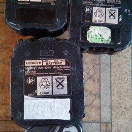 Аккумуляторы и зарядные устройства - Аккумуляторы и зарядное для шуруповёрта Hitachi 14,4 вольта, 0