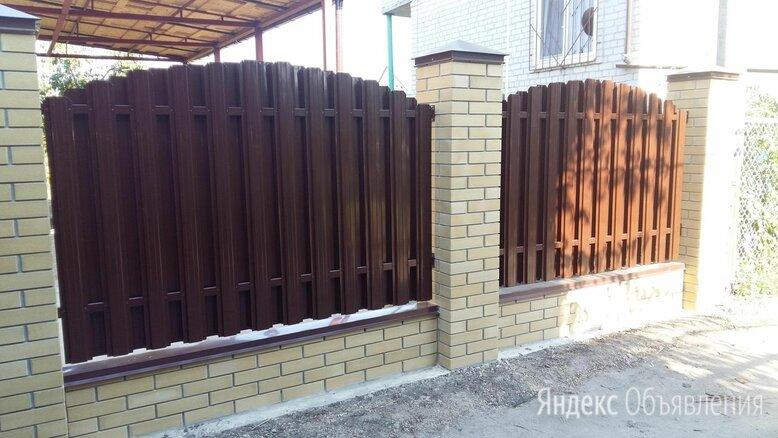 Штакетник металлический для  забора в г. Ноябрьск по цене 74₽ - Заборы, ворота и элементы, фото 0