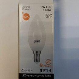 Лампочки - Светодиодные лампы, цоколь Е14, мягкий тёплый свет, 0