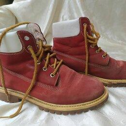 Ботинки - Ботинки зимние б/у 37 размер,piranha, 0